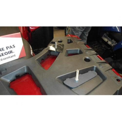 Комплект для крепления кофра WES 3000 или WES 6000 на Polaris Sportsman XP 850 2009+ & Sportsman 550 2010+