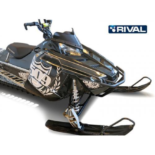 Бампер передний для снегохода Polaris Pro RMK 2011+